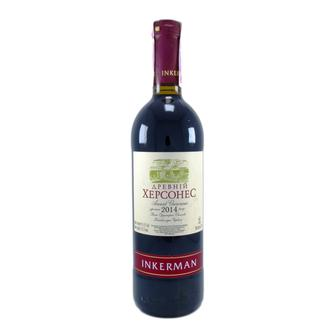 Вино Древній Херсонес, червоне, Легенда Інкерману біле напвсолодке Інкерман 0,75л