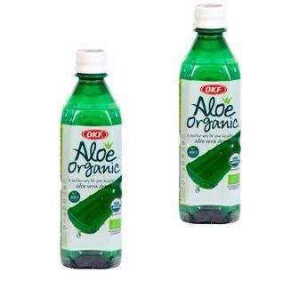 Напій б/алк негазований Organic Aloe Vera Juice 0.5л
