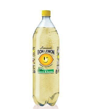 Напій Лимон-малина/Полуниця-базилік 2л Bon Lemon