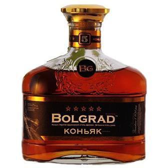 Коньяк 5*   Болград  0,5 л