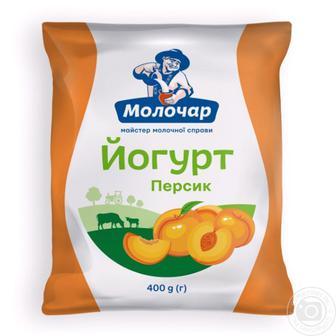 Йогурт Молочар Лесная ягода/Клубника питьевой 1.5% 400г