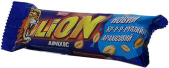 Батончик Nestle Lion з арахісом, 40 г