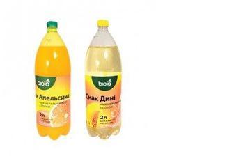 Напиток БІОЛА Дыня/Апельсин+сок, 2л