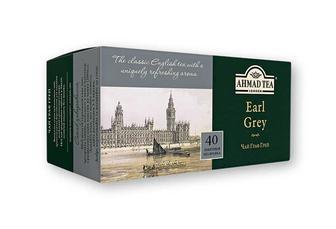 Чай Earl Grey, чорний з ароматом бергамоту Ahmad Tea 40 ф/п х 2 г