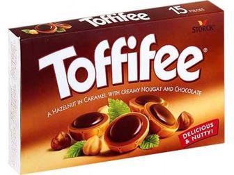 Цукерки шоколадні Toffifee 250г
