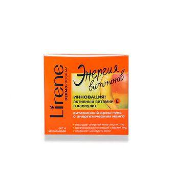 Крем-гель для обличчя Lirene Енергія вітамінів 50мл
