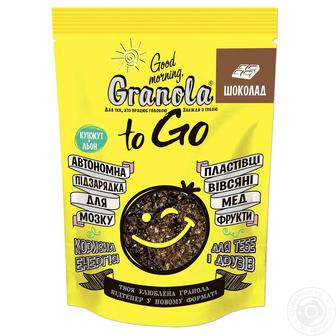 Сніданок сухий Гранола Доброго ранку з шоколадом 140г
