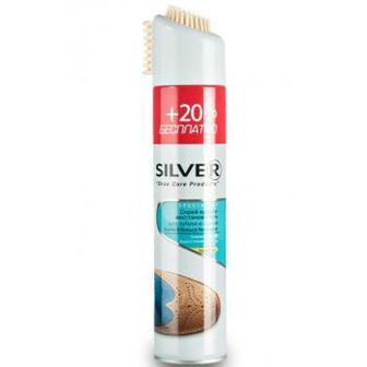 Спрей водовідштовхуючий та відновлюючий для нубука та замші Silver 300мл