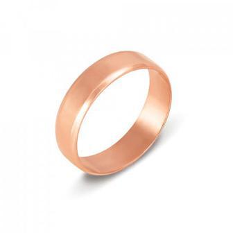 Обручальное кольцо. Европейская модель. Артикул 1005
