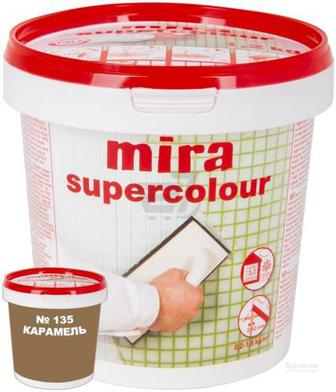 Фуга MIRA Supercolour 135 1,2 кг карамель