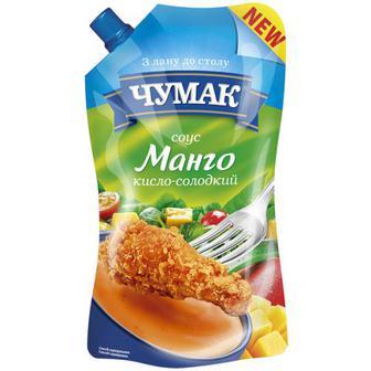 Соус Чумак Манго кисло-солодкий 200г