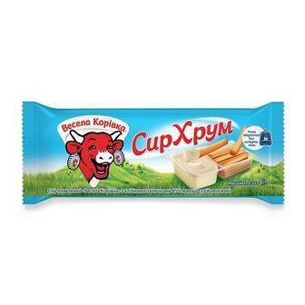 СирХрум плавлений з хлібними паличками 45%, Весела Корівка, 35 г