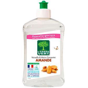 Засіб L`Arbre Vert для миття посуду Мигдаль 500мл