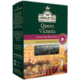 Чай Ahmad Queen Victoria чорний з аромат. бергамоту 100г