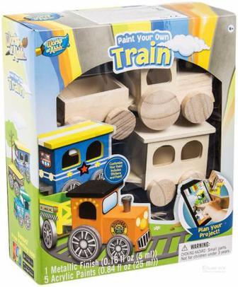 Іграшковий набір для творчості Masterpieces Поїзд 21417