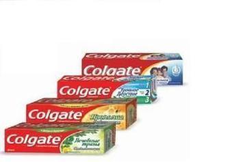 Зубная паста Colgate 50,75,100мл