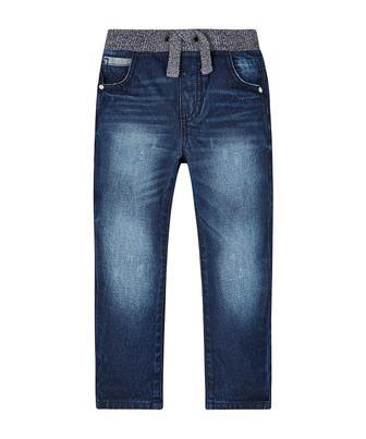 Потерті джинси з еластичною вставкою від Mothercare