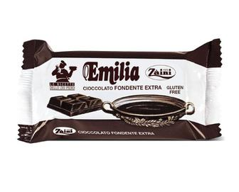 Шоколад чорний Zaini Emilia,  200 г
