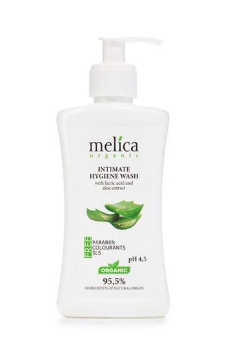 Средство для интимной гигиены Melica с молочной кислотой и экстрактом алоэ, 300 мл