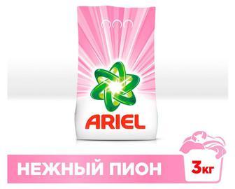 Стиральный порошок ARIEL автомат Нежный пион, 3кг