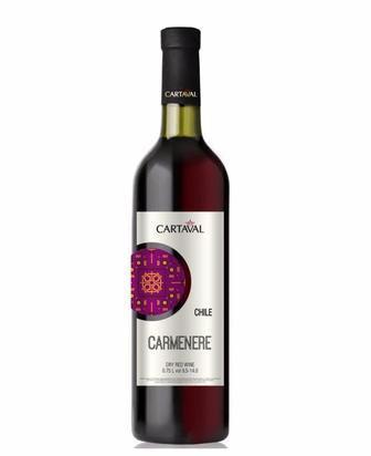 Вино Картавал Шардоне біле сухе/Каберне Совіньон червоне сухе  0,75л