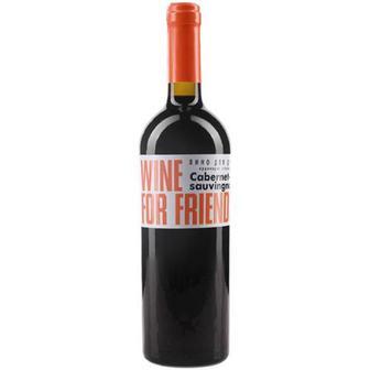Вино For Friends Cabernet-sauvingnon напівсол. червоне 0,75л