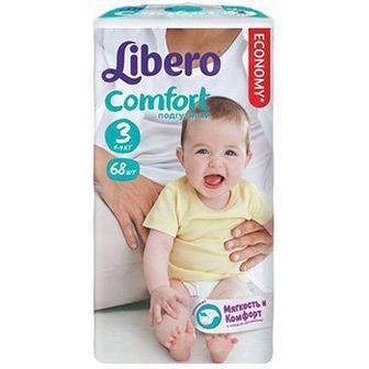 Дитячі підгузники Libero Comfort