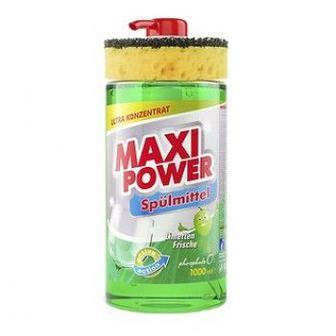 Средство для мытья посуды Maxi Power Лайм 1 л