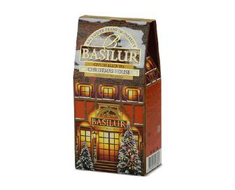 Чай Basilur чорний Christmas House, 100г