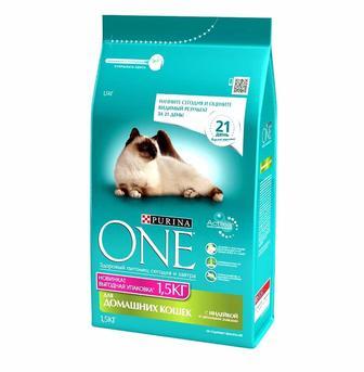 Сухий корм для котів Purina ONE 1,5кг