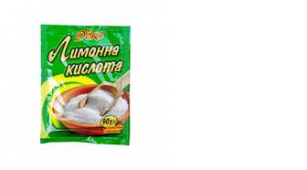 Лимонна кислота, Деко, 90г