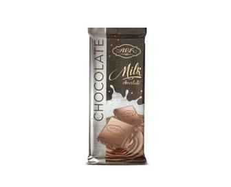 Шоколад АВК, молочний 24%, какао, 90 г