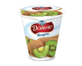 Йогурт «Дольче» ківі, 3,2% жиру, 280г