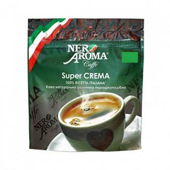 Кава розчинна порошкоподібна Nero Aroma Super Crema 38г