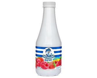 Йогурт «Простоквашино» полуниця-малина, 1,5%, 750г