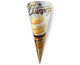 Морозиво «Рудь» «Імпреза» «Біанко» 100г