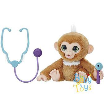 Скидка 21% ▷ Інтерактивна іграшка HASBRO FurReal Friends Вилікуй мавпочку