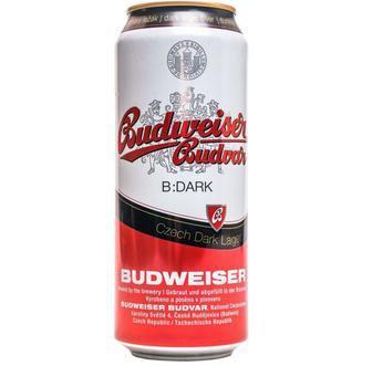 Пиво Будвар 5% або темне Будвайзер 0,5л
