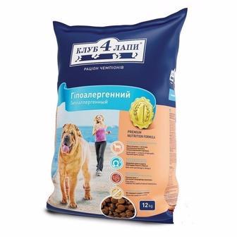 Корм для собак Клуб 4 лапи 12 кг