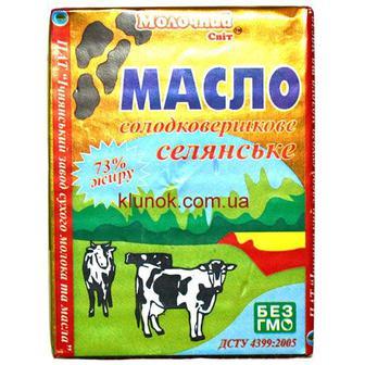 Масло Молочный мир 73% 200г
