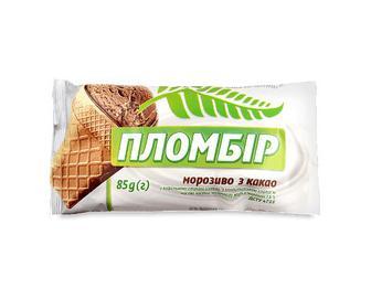 Морозиво Oliver Smith, пломбір какао, 85г