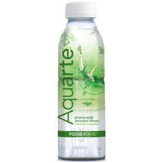 Скидка 29% ▷ Вода Aquarte женьшень-яблуко пет 0,5л