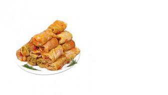 Голубцы овощные с рисом и грибами, КЛАСС, 100г