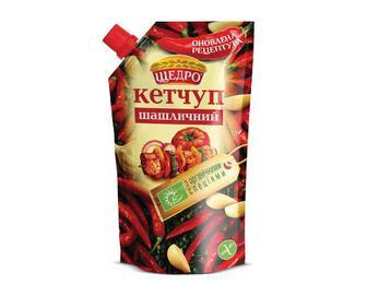 Кетчуп «Щедро» «Шашличний» 300г