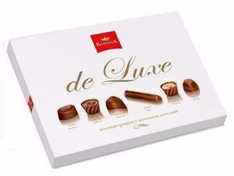 Цукерки De Luxe молочний шоколад Корона 146 г