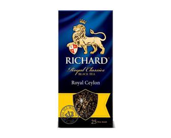 Чай чорний Richard Royal Ceylon, 25×2 г/уп