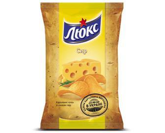 Чіпси «Люкс» сир, 133г