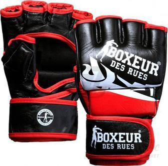 Рукавички для MMA Boxeur BXT-5135 р. L чорний із червоним