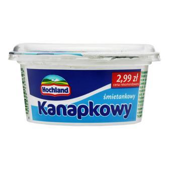 Сир канапковий вершковий Hochland Польща 130 г