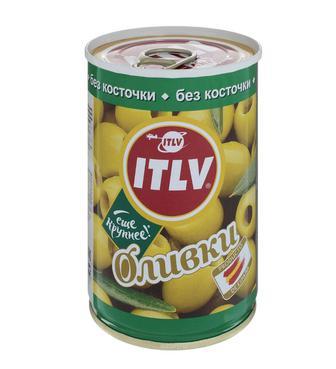 Оливки черные, зеленые   ІТЛВ б/к 314 мл